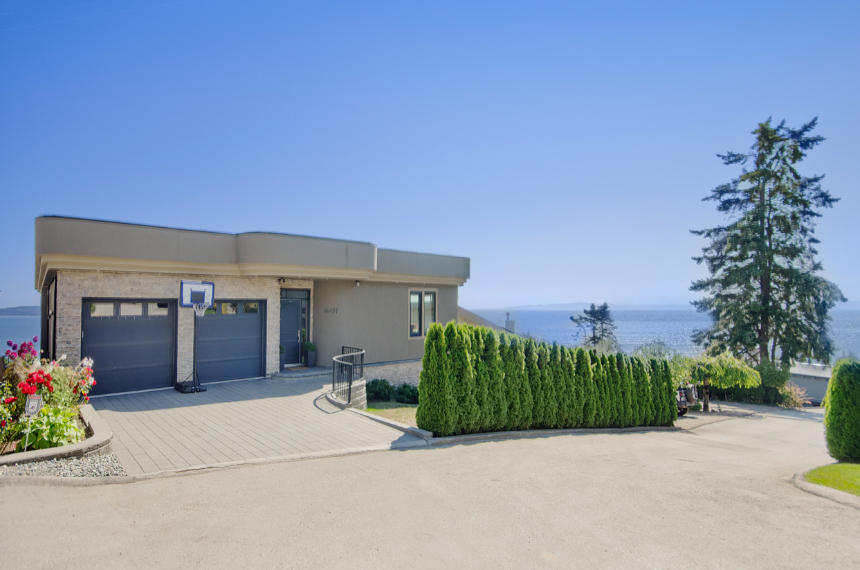 White Rock ocean view home