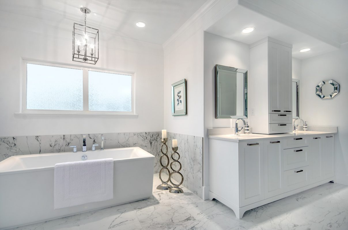 Cloverdale ensuite, bathroom 1