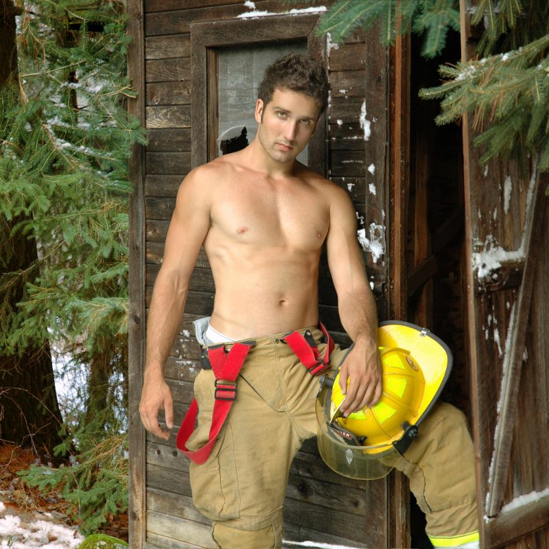 Devin Kelley firefighter calendar Slider 1